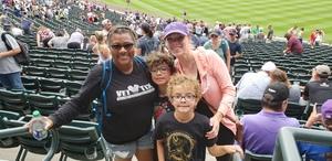 Jennifer attended Colorado Rockies vs. Arizona Diamondbacks - MLB on Jul 11th 2018 via VetTix