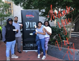 Yvette attended Pfl 3 - Shields vs. Cooper - Professional Mixed Martial Arts - Presented by Professional Fighters League on Jul 5th 2018 via VetTix