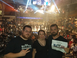 Jeff attended Pfl 3 - Shields vs. Cooper - Professional Mixed Martial Arts - Presented by Professional Fighters League on Jul 5th 2018 via VetTix