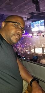 Lloyd attended Pfl 3 - Shields vs. Cooper - Professional Mixed Martial Arts - Presented by Professional Fighters League on Jul 5th 2018 via VetTix