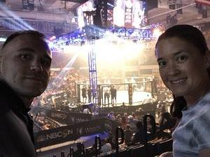 Matthew attended Pfl 3 - Shields vs. Cooper - Professional Mixed Martial Arts - Presented by Professional Fighters League on Jul 5th 2018 via VetTix