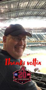 Chris attended Arizona Diamondbacks vs. Texas Rangers - MLB on Jul 31st 2018 via VetTix
