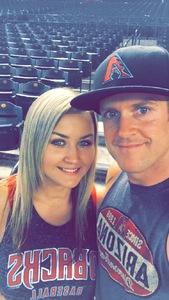 Roman attended Arizona Diamondbacks vs. Texas Rangers - MLB on Jul 31st 2018 via VetTix