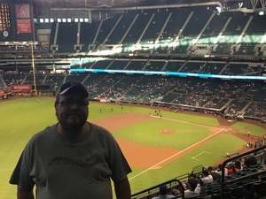 Joshua attended Arizona Diamondbacks vs. Texas Rangers - MLB on Jul 31st 2018 via VetTix