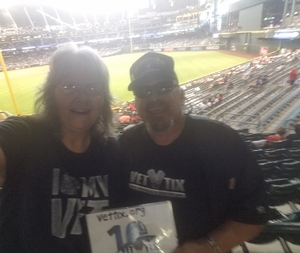 Marion attended Arizona Diamondbacks vs. San Francisco Giants - MLB on Aug 4th 2018 via VetTix