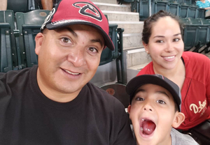 Saucedo attended Arizona Diamondbacks vs. San Francisco Giants - MLB on Aug 4th 2018 via VetTix
