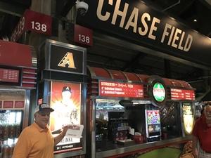 Larry attended Arizona Diamondbacks vs. San Francisco Giants - MLB on Aug 4th 2018 via VetTix