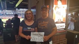 Zane attended Arizona Diamondbacks vs. San Francisco Giants - MLB on Aug 4th 2018 via VetTix