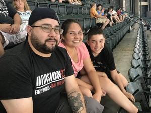 Charles attended Arizona Diamondbacks vs. San Francisco Giants - MLB on Aug 4th 2018 via VetTix