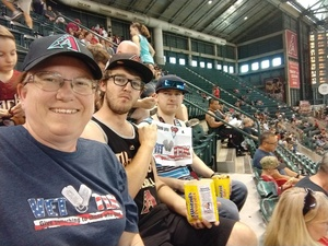 Kristina attended Arizona Diamondbacks vs. Philadelphia Phillies - MLB on Aug 7th 2018 via VetTix
