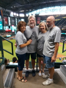 Richard attended Arizona Diamondbacks vs. Philadelphia Phillies - MLB on Aug 7th 2018 via VetTix