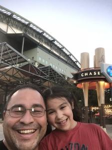 Ray attended Arizona Diamondbacks vs. Philadelphia Phillies - MLB on Aug 7th 2018 via VetTix