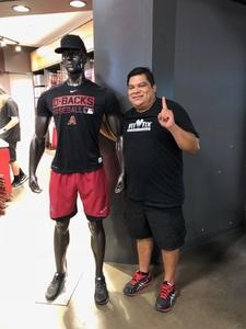 Pedro attended Arizona Diamondbacks vs. Seattle Mariners - MLB on Aug 24th 2018 via VetTix