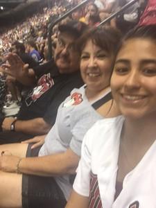 Gonzalo attended Arizona Diamondbacks vs. Seattle Mariners - MLB on Aug 24th 2018 via VetTix