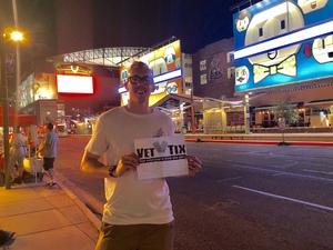 Alex attended Arizona Diamondbacks vs. Seattle Mariners - MLB on Aug 24th 2018 via VetTix