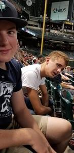Jonathan attended Arizona Diamondbacks vs. Seattle Mariners - MLB on Aug 24th 2018 via VetTix
