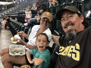 John attended Arizona Diamondbacks vs. San Diego Padres - MLB on Sep 3rd 2018 via VetTix