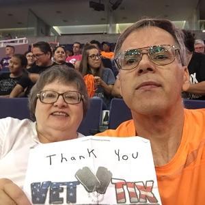 Richard attended Arizona Diamondbacks vs. San Diego Padres - MLB on Sep 3rd 2018 via VetTix