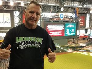 Brian attended Arizona Diamondbacks vs. San Diego Padres - MLB on Sep 3rd 2018 via VetTix