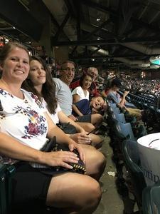 David attended Arizona Diamondbacks vs. San Diego Padres - MLB on Sep 3rd 2018 via VetTix