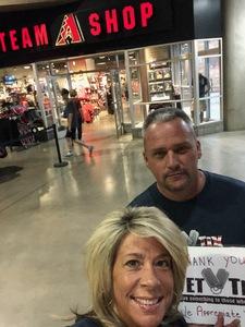 Tom attended Arizona Diamondbacks vs. Colorado Rockies - MLB on Sep 23rd 2018 via VetTix