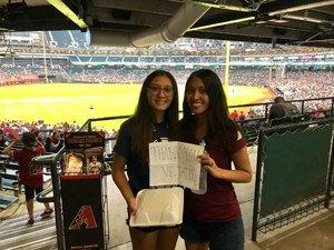 Leilani attended Arizona Diamondbacks vs. Colorado Rockies - MLB on Sep 23rd 2018 via VetTix