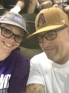 William attended Arizona Diamondbacks vs. Colorado Rockies - MLB on Sep 23rd 2018 via VetTix