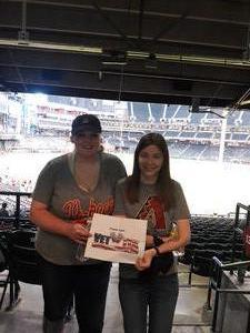 Jeanne attended Arizona Diamondbacks vs. Colorado Rockies - MLB on Sep 23rd 2018 via VetTix