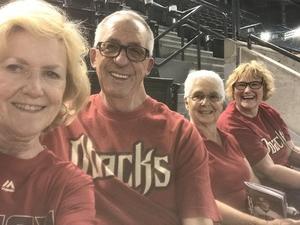 Bob attended Arizona Diamondbacks vs. Colorado Rockies - MLB on Sep 23rd 2018 via VetTix
