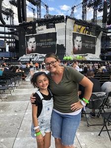 Jeremey attended Taylor Swift Reputation Stadium Tour - Pop on Jul 26th 2018 via VetTix