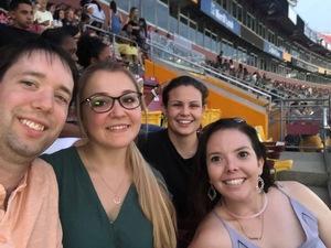 Kristen attended Taylor Swift Reputation Stadium Tour - Pop on Jul 26th 2018 via VetTix