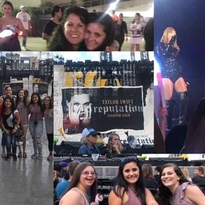 Milly attended Taylor Swift Reputation Stadium Tour - Pop on Jul 26th 2018 via VetTix