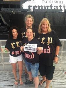 michael attended Taylor Swift Reputation Stadium Tour - Pop on Jul 26th 2018 via VetTix