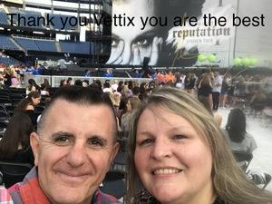 Patrick attended Taylor Swift Reputation Stadium Tour on Jul 27th 2018 via VetTix