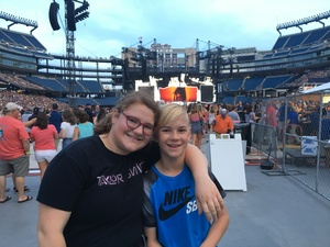 david attended Taylor Swift Reputation Stadium Tour on Jul 27th 2018 via VetTix