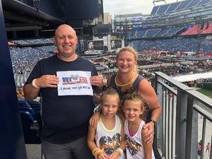 Nicholas attended Taylor Swift Reputation Stadium Tour on Jul 28th 2018 via VetTix