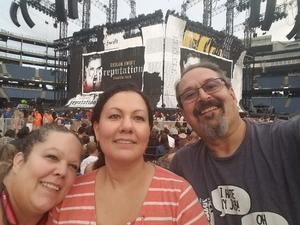 Richard attended Taylor Swift Reputation Stadium Tour on Jul 28th 2018 via VetTix