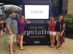 Christopher attended Taylor Swift Reputation Stadium Tour on Jul 28th 2018 via VetTix