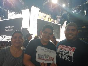 Jose attended Taylor Swift Reputation Stadium Tour on Jul 28th 2018 via VetTix