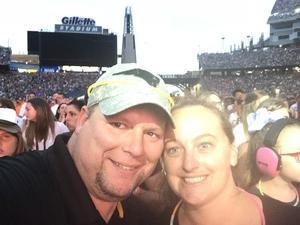 James attended Taylor Swift Reputation Stadium Tour on Jul 28th 2018 via VetTix