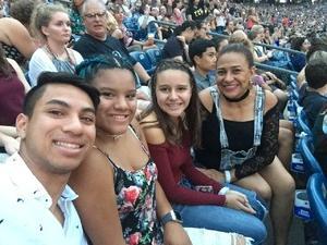 Minsoo attended Taylor Swift Reputation Stadium Tour on Jul 28th 2018 via VetTix