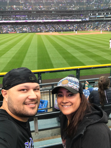 Nathaniel attended Colorado Rockies vs. Seattle Mariners - MLB - Military Appreciation on Jul 15th 2018 via VetTix