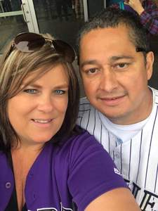 Alfonso attended Colorado Rockies vs. Seattle Mariners - MLB - Military Appreciation on Jul 15th 2018 via VetTix