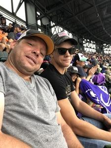 Gregory attended Colorado Rockies vs. Seattle Mariners - MLB - Military Appreciation on Jul 15th 2018 via VetTix