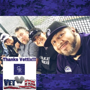 Anthony attended Colorado Rockies vs. Seattle Mariners - MLB - Military Appreciation on Jul 15th 2018 via VetTix