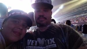 Luis attended Taylor Swift Reputation Stadium Tour on Jul 22nd 2018 via VetTix