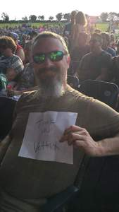 Philip attended Foreigner - Juke Box Heroes Tour With Special Guest Whitesnake and Jason Bonham's LED Zeppelin Evening on Jul 3rd 2018 via VetTix