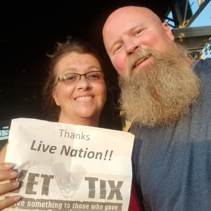 Christopher attended Foreigner - Juke Box Heroes Tour With Special Guest Whitesnake and Jason Bonham's LED Zeppelin Evening on Jul 3rd 2018 via VetTix