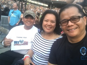 Rito attended Taylor Swift Reputation Stadium Tour on Jul 20th 2018 via VetTix