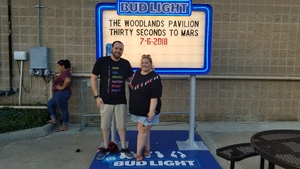 Justin attended Thirty Seconds to Mars on Jul 6th 2018 via VetTix